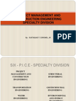 Project Management and Construction Engineering Specialty Division.ppt (August 2015)
