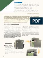 Bandejas Sony 3cd