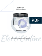 Manual Alarma GSM CQN Español