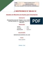 Estudio de Mec de Suelos - Puente Lajas