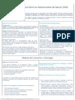 Bioseguridad en Los Centros Asistenciales de Salud (CAS)