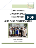 Comisionando Ministros Laicos