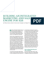 BCG Building an Integrated Marketing and Sales Engine for B2B June 2018 NL Tcm9 196057