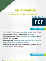 Aprendizaje Complejo, Modelo Alostérico. André Giordan