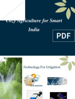 PPT-Cozy Agriculture for Smart India