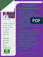 Invitacion Oficial Al Evento y Muestra Comercial 2019