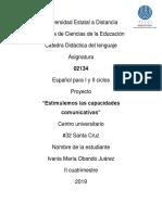 Prooyecto de Español