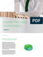 Disaster Recovery Orchestration Overview