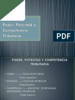 Poder Potestad y Competencia Tributaria (1)