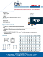 Ficha Tecnica Transformadores Monofasicos