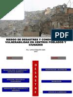 Riesgo de Desastres Yc Ondiciones de Vulnerabilidad