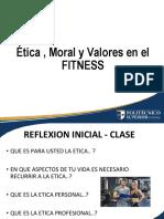 Etica Moral y Valores en El Fitness