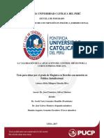 La valoración de la aplicación del control difuso por la Corte Suprema - Silvia Morales Silva