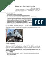 Annual Maintenance Budgeting.docx