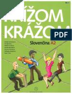 Križom Kražom Slovak student book.
