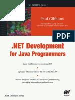 .NET development for java developer