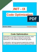 9 Code Optimization