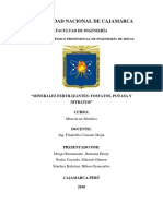 Informe Minerales Fertilizantes Fosfato, Potasa y Nitratos