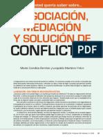 Negociación y conciliación