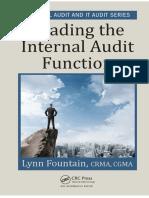 Leading internal audit