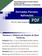 Aula Teórica 10 - Derivadas Parciais_aplicações - 10