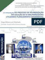 Apresentação Mestrado - PVP