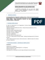 1. Memoria Descriptiva - Estructuras - Pomalca (1)