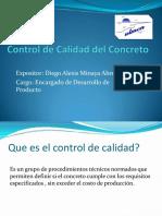 Control de Calidad Del Concreto ULMEN