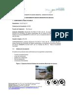 Informe de Cumplimiento Arauca 2011