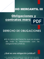 Clase No. 1. Caraterísiticas de las obligaciones y contratos merantiles. (Sección C).pptx