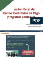 Integración Fiscal Del Recibo Electrónico de Pago y Registros Contables