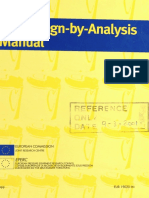The Design by Analysis Manual