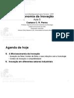 Economia Da Inovacao Aula 05