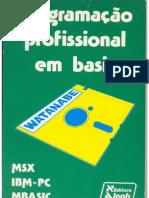 Programacao Profissional Em BASIC