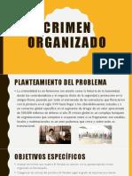 Crimen Organizado Diapositivas