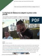 Las lágrimas de Maluma tras adquirir su primer avión privado _ Gente y Famosos _ EL PAÍS