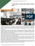 15-07-2019 Reconocen Héctor Astudillo y Javier San Martín labor de maestros jubilados.