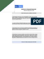 Matriz Parametrizacion Informacion