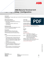 CHP032 – RTU560 Remote Terminal Unit PLC Programming - Configuration