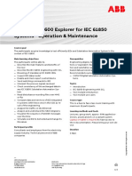 CHP192 – ITT600 Explorer for IEC61850 Systems - Operation & Maintenance