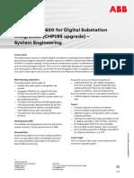CHP198 – IET600 for Digital Substation Integration (CHP195 Upgrade) - System Engineering