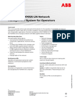 CHP593 – FOXMAN-UN Network Management System as Operators