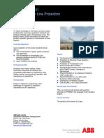 INPSNM-SA01 Transmission Line Protection - Rev-B
