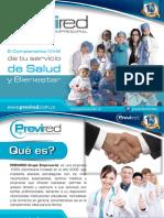Portafolio de Servicio PREVIRED Grupo Empresarial - EDITABLE 2018-1