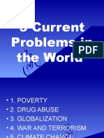 5 Current Problems in the World