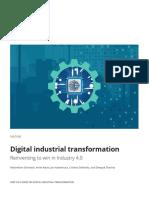 DI Digital Industrial Transformation