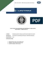 Trabajo de Procesos Organisacionales y Empresariales