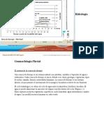 Hidrología Geomorfología Fluvial