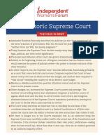 Legal Brief