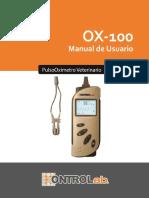Pulsioximetro Edan h100
